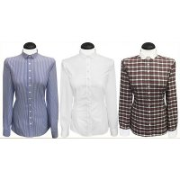 Blouses with a small rounded collar (expiring collection)
