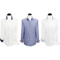 Contrast Men's Shirts
