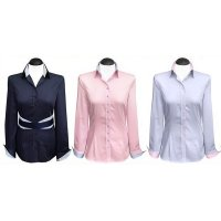 Contrast blouses 2-colored (expiring collection)